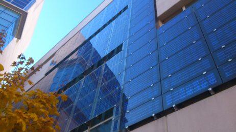 Solar-panels-building