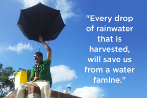 Bengaluru's 'Rain Man': Why Rainwater Harvesting is the future of water conservation