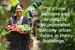 Terrace farming: The secret weapon against waste management problems
