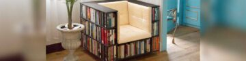 How to use your book collection as part of your home décor!