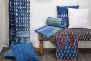 Dress up your home with Indian textiles