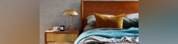 Glam up your space with subtle metallic accents