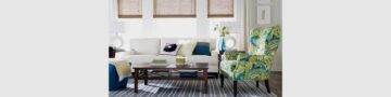 Add an accent chair, to boost your home's décor