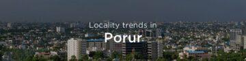 Porur property market: An overview
