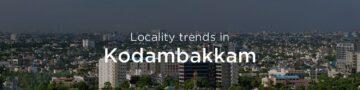 Kodambakkam property market: An overview