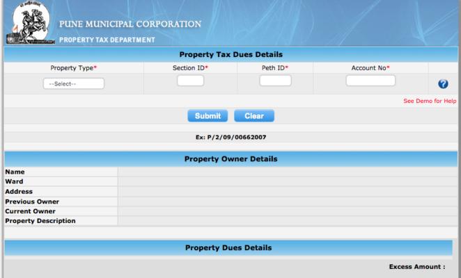 Pune Property Tax