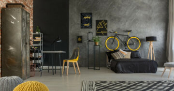 Inexpensive ways to create an industrial décor theme for your home