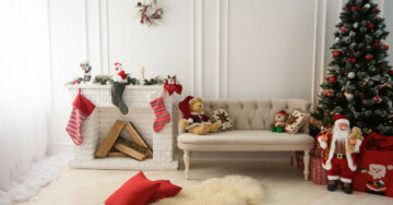Christmas home décor tips, for compact homes
