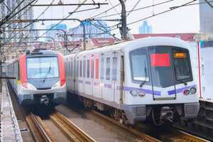 Delhi Metro Pink Line: Safety inspection on South Campus-Lajpat Nagar section on July 23, 2018
