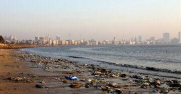HC raps Maharashtra government, BMC, after sea dumps trash on Mumbai shores
