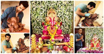 Ganesh Chaturthi 2018: A peek into celebs' Ganpati celebrations at home