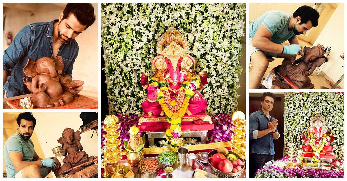 Ganesh Chaturthi 2018 A Peek Into Celebs Ganpati Celebrations At