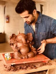 Ganesh Chaturthi 2018: A peek into celebs' Ganpati celebrations at home Rithvik Dhanjani