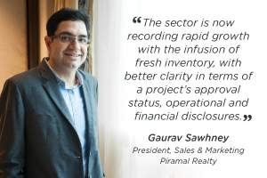 Developers are offering state-of-the-art products at competitive price points: Gaurav Sawhney, Piramal Realty