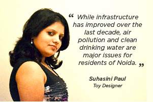 Life in Noida: Infrastructure is good; pollution, water and safety are concerns