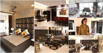 Luxurious and colourful: Designer Maheka Mirpuri's home