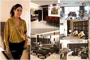 Luxurious and colourful: Designer Maheka Mirpuri's home