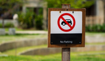 Are tenants entitled to parking space in a CHS?