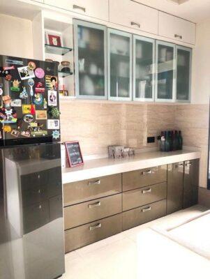 Stylish and tasteful: Celebs share their kitchen décor ideas Dheeraj Dhoopar kitchen 2