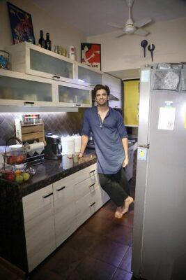 Stylish and tasteful: Celebs share their kitchen décor ideas Mohit Malik kitchen 1