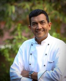Stylish and tasteful: Celebs share their kitchen décor ideas Sanjeev Kapoor