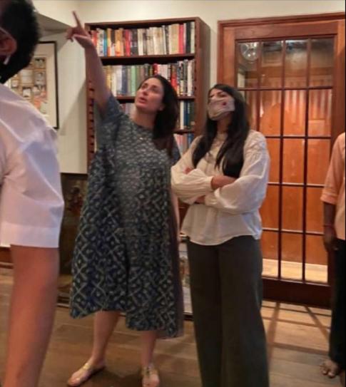Kareena Kapoor with interior architect