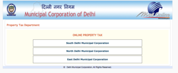 Pay Property Tax in Delhi Online