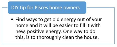 Sun sign décor: Pisces zodiac sign and its influence on the subconscious