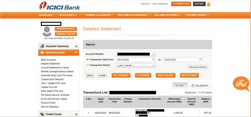 Icici Bank Home Loan Statement And Interest Certificate Online Housing News