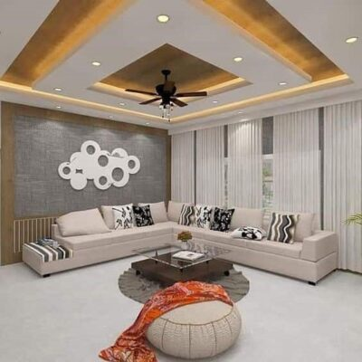 Check out these POP ceiling designs to decorate your living room