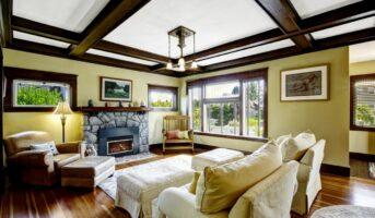 Elegant ceiling design ideas for your living room