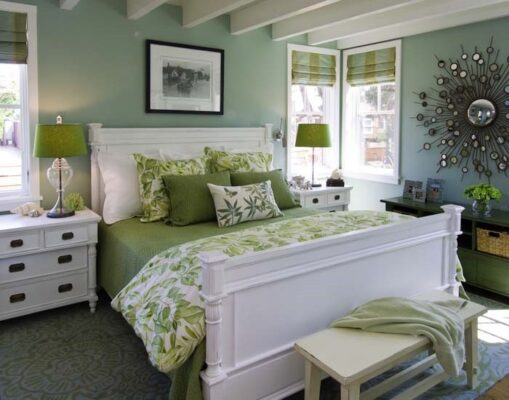 5 trendy wall colour combinations for your bedroom