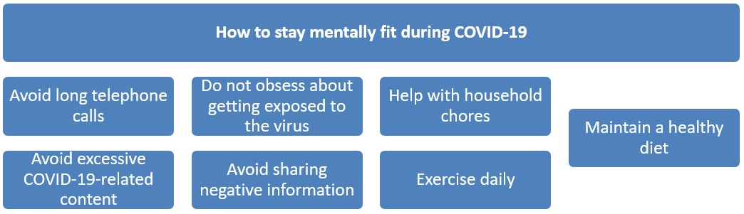 Seven tips to maintain mental health during COVID-19