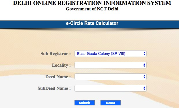 All about New Delhi circle rates