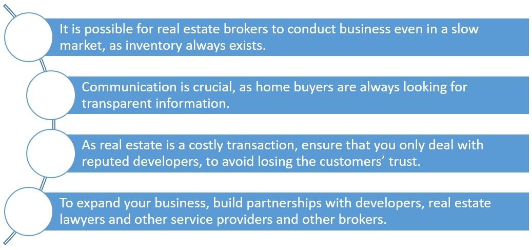 seller tips, brokerage business in India, Ben Caballero, real estate brokers in India, tips for real estate agents