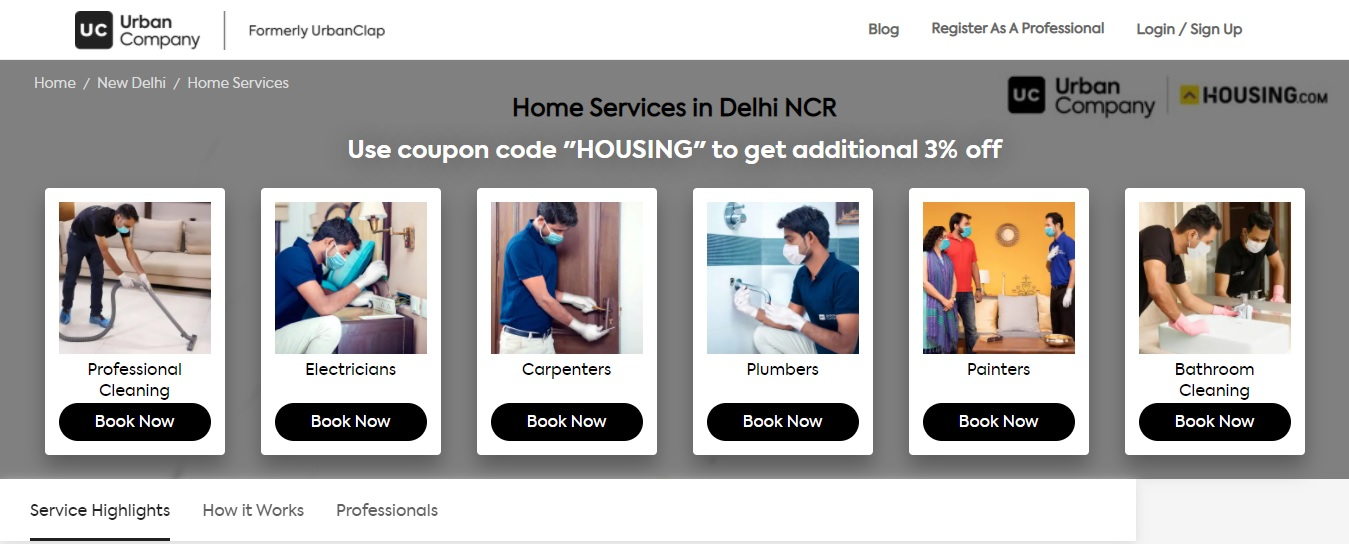 Efficient and affordable home services at your doorstep, with Housing Edge