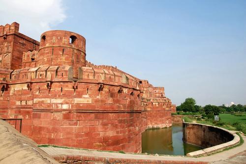 Agra Fort moat