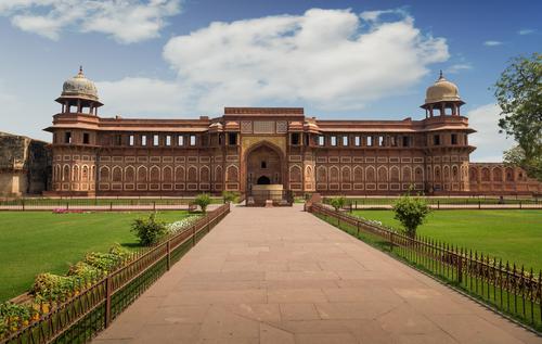 Jahangiri Mahal in Agra Fort