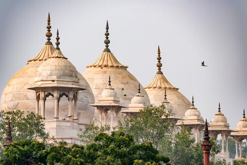 Moti Masjid or Pearl Mosque in Agra Fort
