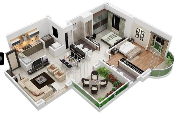 What is 2BHK?