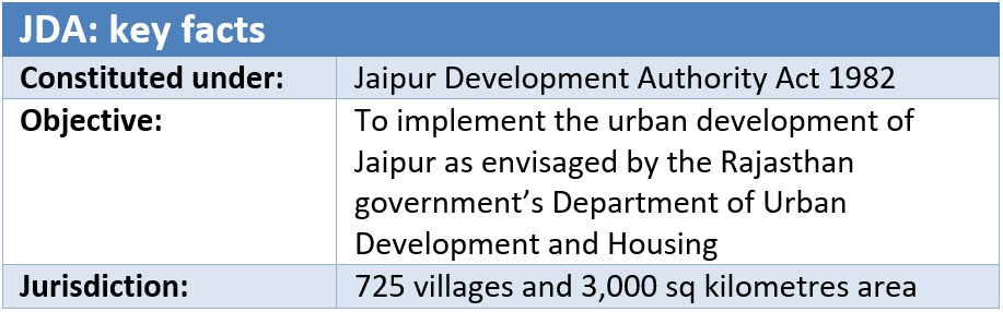 Jaipur Development Authority (JDA)