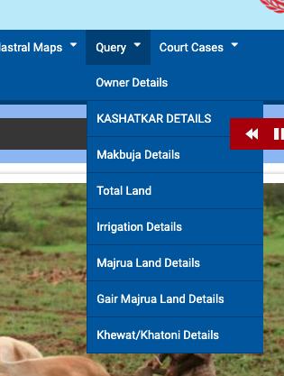 Onwership details on Jamabandi