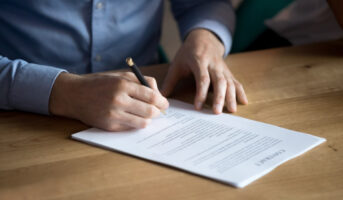 What is a leave and licence agreement?