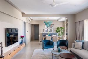 Jardin Home in Mumbai's Juhu: Interior design that blends comfort and elegance