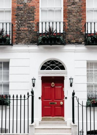 Ornamental main door