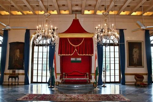Raj Bhavan Kolkata Throne Room