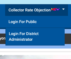Collector Rate Objection