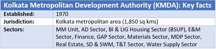 Kolkata Metropolitan Development Authority (KMDA)