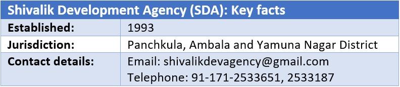 Shivalik Development Agency (SDA)