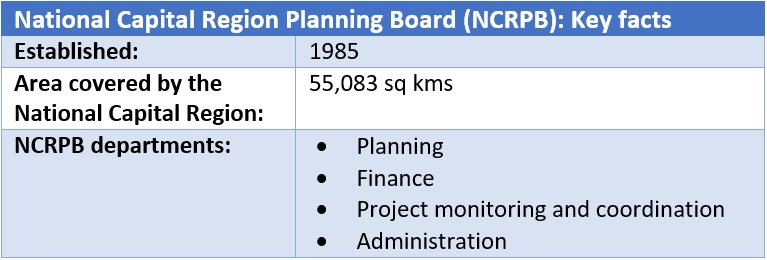 National Capital Region Planning Board (NCRPB)